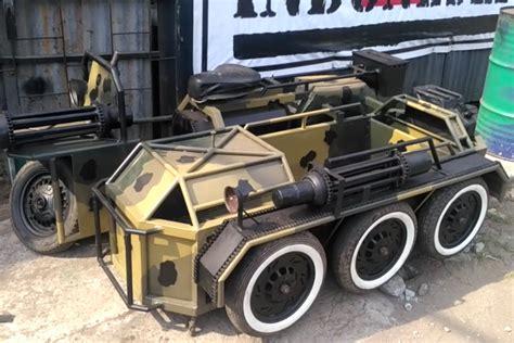 modifikasi vespa tank lulus smp jadi eksportir vespa modifikasi tank ke eropa