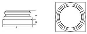 Cheap Side Table Roman Ionic Fiberglass Column Prices