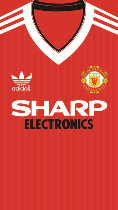 Manchester United Home kit 1982 iphone 5 5s 6 wallpaper