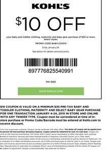 kohls coupons september 2016 coupon codes printable