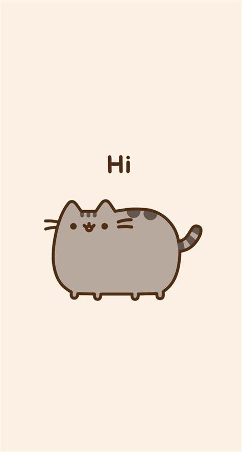 pusheen cat wallpaper iphone pusheen wallpaper phone background wallpapers hd