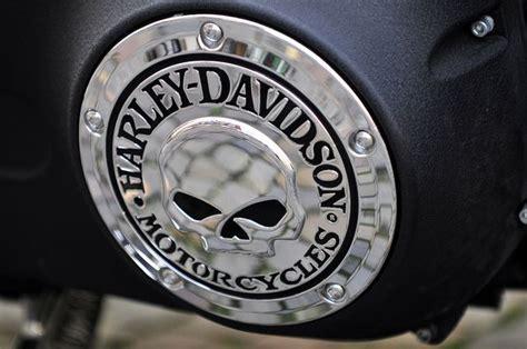 Selimut Motor Harley Davidson Skull harley davidson bob skull emblem bikes