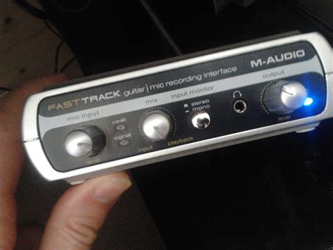 M Audio Fast Track Usb Mkii m audio fast track image 623880 audiofanzine