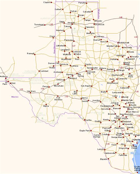 southwest texas map map of sw texas pictures to pin on pinsdaddy