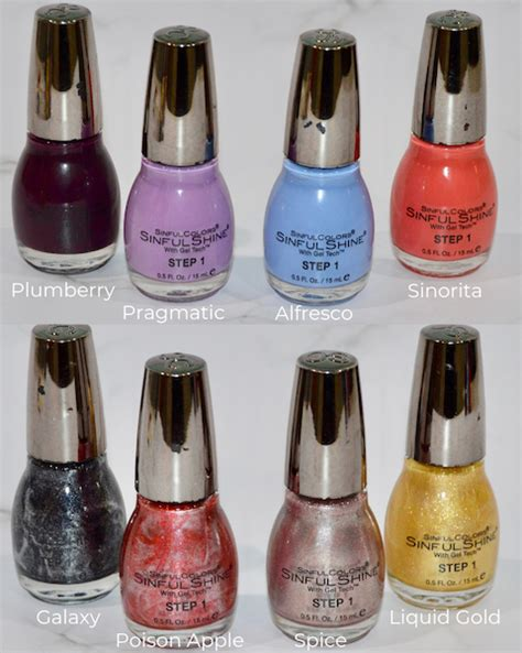 sinful colors gel tech new sinful colors sinfulshine gel tech prime