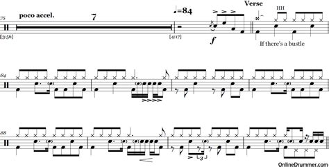 tutorial stairway to heaven drum stairway to heaven led zeppelin drum sheet music
