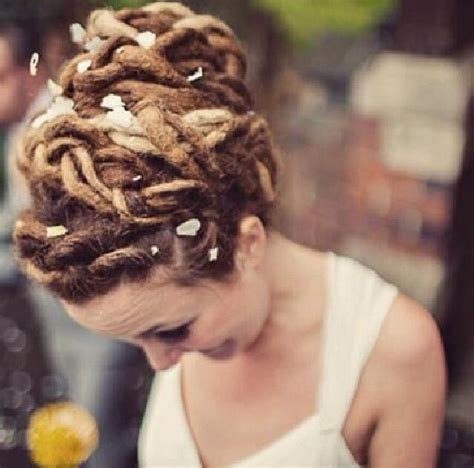 Hochzeitsfrisur Dreadlocks by 28 Best Wedding Styles For Dreadlocks Images On