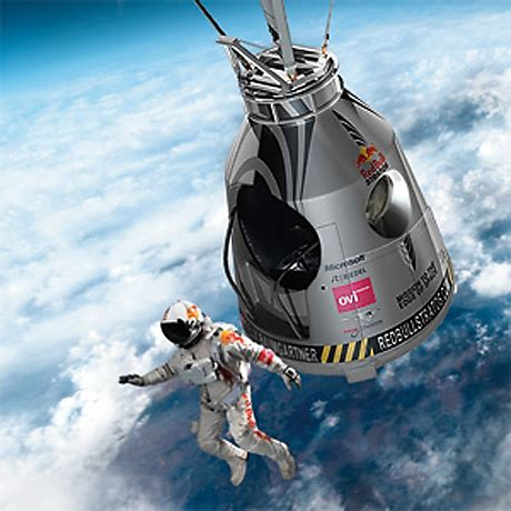 space dive mission to the edge of space bull stratos 2012