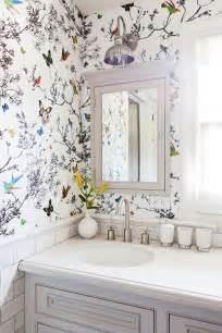wallpapered bathrooms ideas best 25 wallpaper ideas ideas on scrapbook
