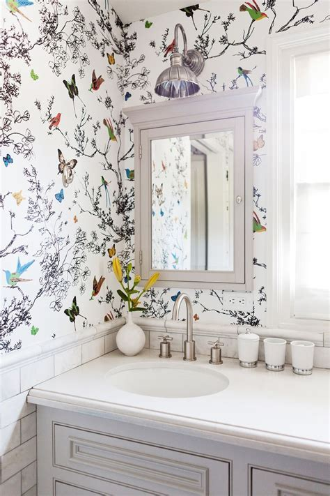 wallpaper bathroom designs best 25 wallpaper ideas ideas on wall paper