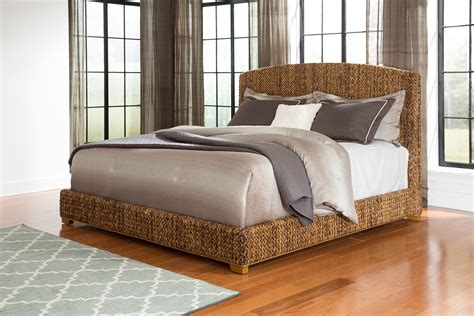 laughton woven banana leaf queen bed quality furniture