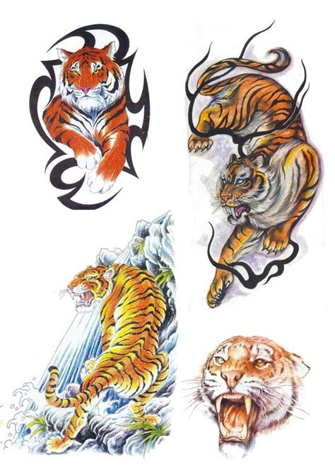 free tiger tattoo designs 181 best images about tiger on back