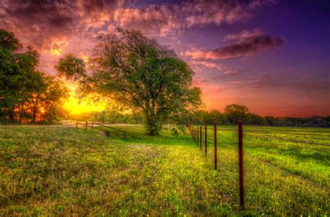 Ranch Houses by Pearl Ranch At Sunset Wheatland Texas Photo On Sunsurfer