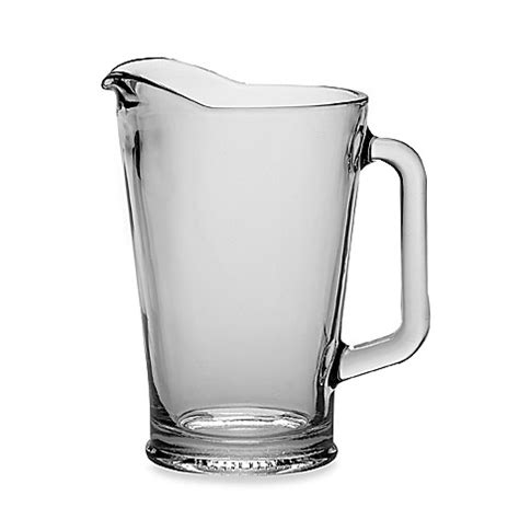 bed bath and beyond pitcher buy glass pitchers from bed bath beyond