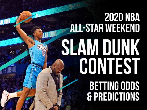 nba slam dunk contest betting odds pick  star