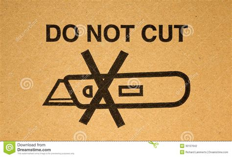 do not cut the tree to get the fruit warning do not cut stock photography image 30107642