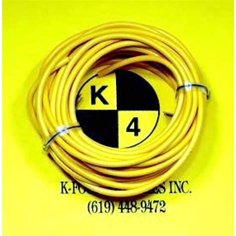 k four switches part number 40 202 primary wire 20