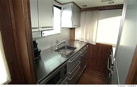 boat galley kitchen design on board madoff s boats galley kitchen 5 cnnmoney