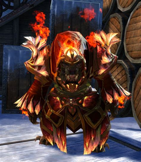 Gw2 Light Armor Gallery by Gw2 Remodeled Flamekissed Light Armor And Radiant Hellfire