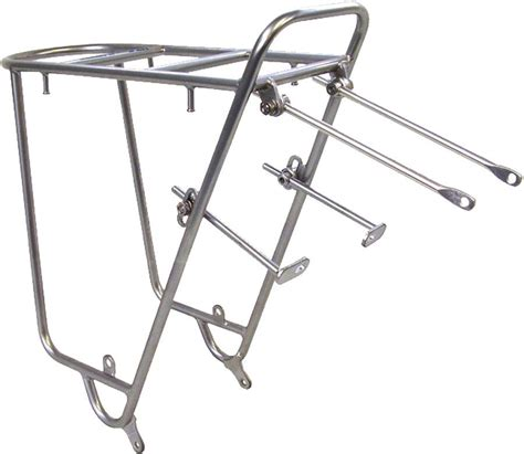 Bike Rack Rear by Nitto Mt Cee Rear Mount Bicycle Rack Silver