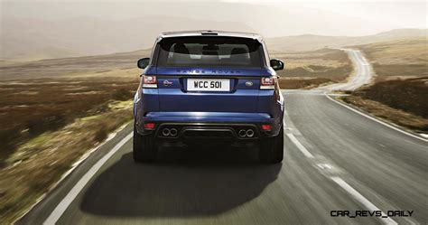 first range rover ever 4 5s 162mph 2015 range rover sport svr is officially