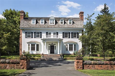 colonial revival dutch colonial revival wadia associates