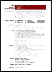 Resume Skills Section Exle by Skills Section Of Resume For Teachers Resume Resume And Teaching