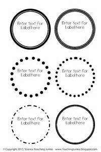 Editable Label Templates by Science Teaching Junkie Inc Office Organization And