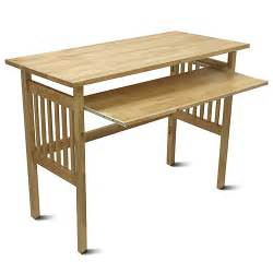 folding computer desk honey pine walmart