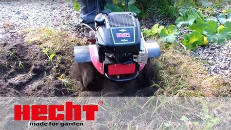 Garten Umgraben Maschine by Hecht 755 Gartenfr 228 Se Motorhacke Bodenfr 228 Se Kultivator Fr 228 Se Hacke Benzin B S