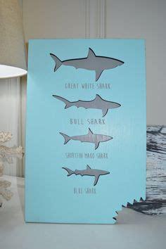 shark home decor shark decal great white decal ocean scene wall art