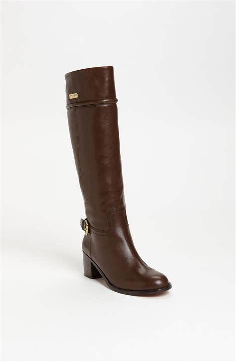 coach boots in brown chestnut lyst