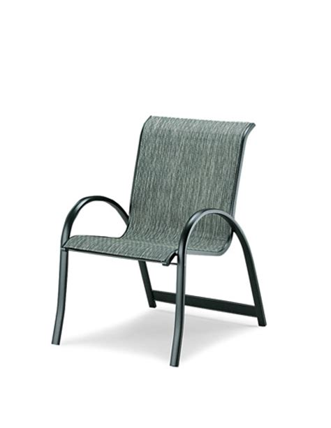 Sling Chair Material by Pool Furniture Supply Armchair Fabric Sling Aluminum