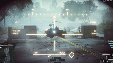 battlefield 4 awesome tanks kill caign mission 2 tanks bf4