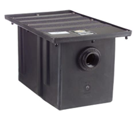 grease trap with removable baffle made carbon steel by features