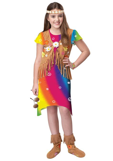 Themes For Children S Clothing | 70s flower child costume halloween costume ideas 2016