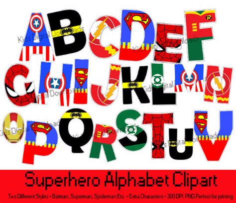 Printable Superhero Font | superhero letters printable www imgkid com the image