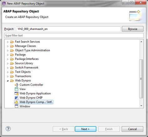 layout editor abap developing web dynpro abap applications using abap