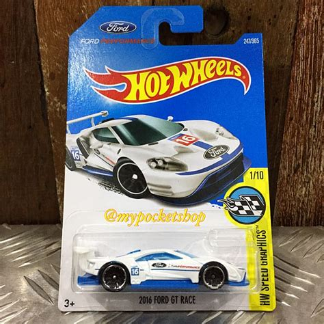 Hotwheels 2016 Ford Gt Race wheels 2016 ford gt race toys toys on carousell