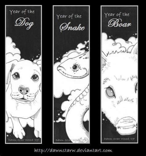 new year zodiac bookmarks zodiac bookmarks 4 by dawnstarw on deviantart