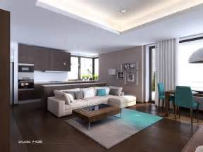 Contemporary Apartment Design Modern Apartment Living Interior Design Ideas