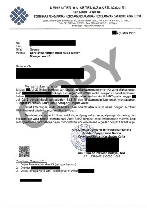 bimbingan sertifikat smk3 depnaker untuk kontraktor promo