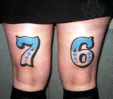 numbers tattoo on stomach 58 incredible number tattoos ideas