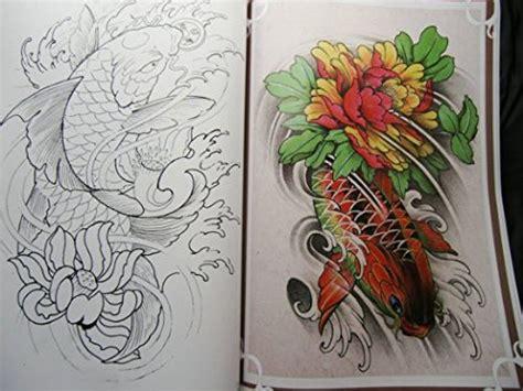 tattoo koi book yuelong 174 china rare tattoo flash book koi fish reference