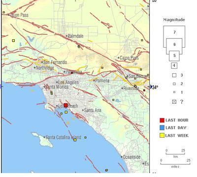 earthquake orange county earthquake shakes long beach but residents aren t fazed