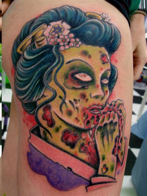 tattoo ideas zombie tattoos designs ideas and meaning tattoos for you