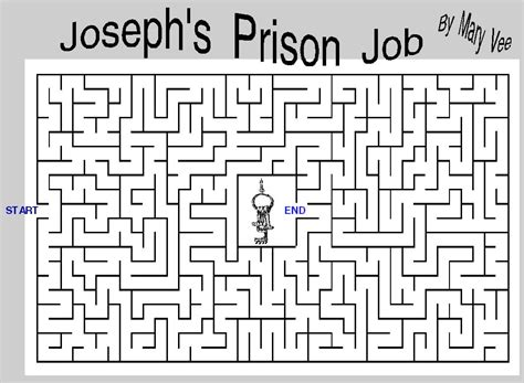 Find In Prison Free Coloring Pages Of Joseph In Prison