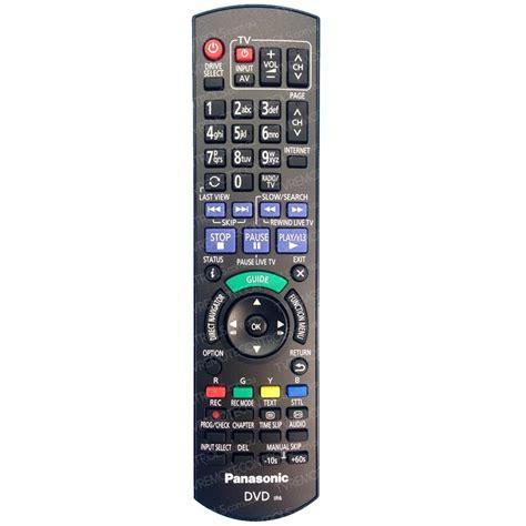 Remote Remote Dvd Panasonic N2qahc000021 Original genuine panasonic n2qayb000980 dvd recorder remote