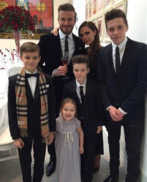 romeo beckham speaking victoria beckham to be made obe for services to fashion