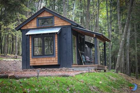 tiny house with porch simple living in tiny cabin with bedroom porch tiny